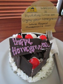 Honeymoon Cake @ Biyukukung Suites & Spa (Ubud)
