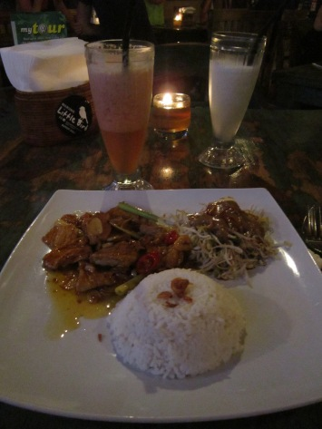 Dinner @ Warung Little Bird (Sanur)