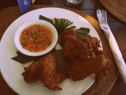 Crispy Chicken Wings @ Sanur